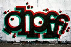 FFFFOUND! #graffiti #wallpiece #ohoff #typography