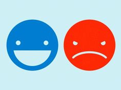 Dribbble - Smileys by John Bishop #emotion #emo #smile #logo #sad