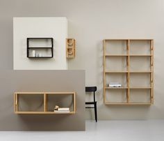 Arch-Inspired Shelving System by Note Design Studio - IPPINKA The arch-inspired shelving system by Note Design Studios is a simple yet powe