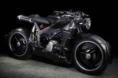 An insane Yamaha YZF-R1 cafe racer by Lazareth #Yamaha #R1 #Lazareth #backtothefuture #Caferacer #Futuristic #Motorcycles #Madeinfrance #la