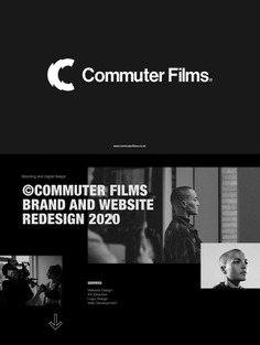 Commuter Films – Brand identity and website redesign