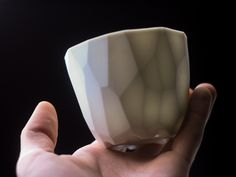 Polyunomi on Behance #vessels #porcelain #cup