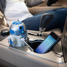 R2-D2 USB Car Charger #charger #usb #car #gadget