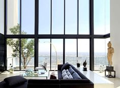 PANO Three Floors Penthouse Residence high sky luxury #interior #design #living #architecture #room