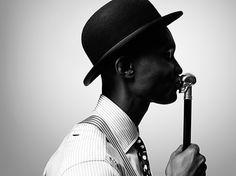 Shortlist Magazine Portrait Fashion #hat