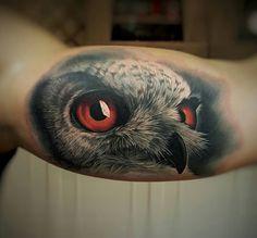 Owl Tattoos Ideas & Meanings
