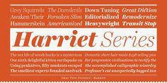 Harriet™   Desktop font « MyFonts