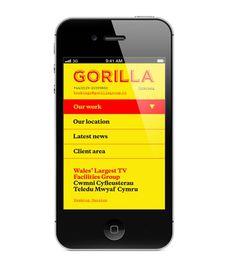 Gorilla Branding via smorgasbord studio