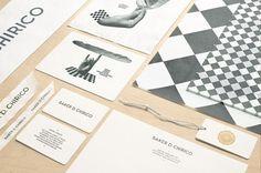 FFFFOUND! | News/Recent - Fabio Ongarato Design | Baker D. Chirico #brand #chirico #identity