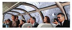 Dan Bina, Unrealized Experiences #bina #vacation #dan #men #vintage #art #collage #mad #moon