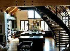 The Seefried Residence #harrisonburg #staircase #design #kitchen #custom