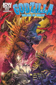 GODZILLA: RULRS OF EARTH #15 cover