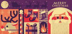 Concertina Christmas #xmas #illustration