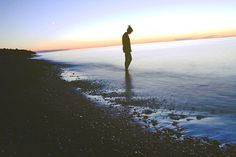 photo #water #girl #michigan #superior #lake #beautiful #sunset #awesome