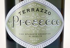 Monarchia Matt | Louise Fili Ltd #louise fili #type #prosecco #italian