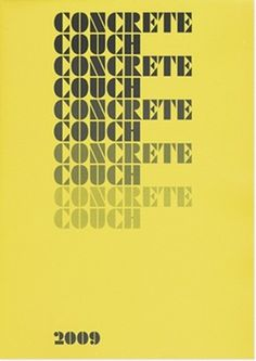 THE ENTENTE #concrete #couch #the #entente