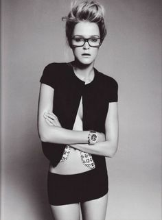 The Uncharted Life #glasses #nerd #blackwhite #woman #clean #portrait #beauty