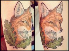 Fox #tattoo
