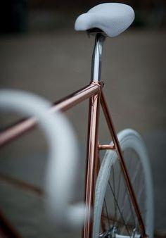 Copperbike #brown #bike #fixie #copper