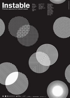 POSTERS : DEMIAN CONRAD DESIGN #patterns #poster