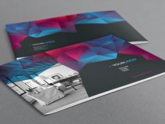Cool Modern Brochure. Download here: http://graphicriver.net/item/cool-modern-brochure/7813777?ref=abradesign #pattern #modern #print #texture #colorful #gradient #dark #brochure #cool
