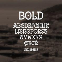 Uralita Bold on Behance #type #font #bold
