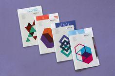 Matrix for Regular Events 2013 on Behance #shapes #design #identity #branding