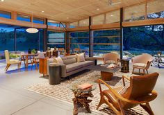 Caterpillar House by Feldman Architecture - www.homeworlddesign. com(4) #modern ranch #house #california