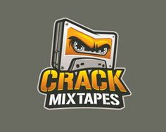 Crack Mixtapes #mixtapes #branding #logopond #crack #logo #tapes