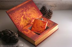 Hollow Book Safe and Hip Flask Art of War (LEATHERBOUND) #sun #martial #safe #of #war #asian #book #hollow #arts #chinese #leather #art #tzu