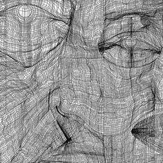 Gradient mesh. Portraits #vectors #face