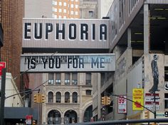 Word on the street by Peteski #lettering #euphoria #city #scape #photography #art #street #signage #typography