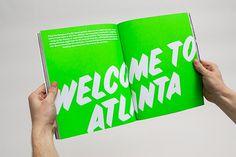 layout, neon, fluorescent, magazine, sideshow