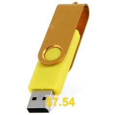 2 #in #1 #32GB #OTG #USB #2.0 #Flash #Drive #- #YELLOW