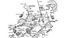 bike-parts.jpg (JPEG Image, 960 × 540 pixels) #bicycle #diagram #bike