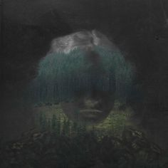 Jonas Till Hoffmann - Toaton She. (JPEG Image, 600 × 600 pixels) #photography #dark #woman #forest #woods #exposure #jonas till hoffmann