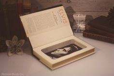 Hollow Book Safe Elvis: We Love You Tender #safe #elvis #book #rockandroll #music #hollowbook