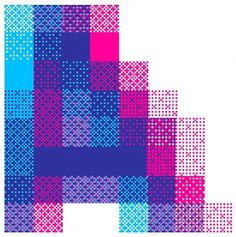 Profile : Andrew Townsend #pattern #colours #pixel