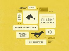 Full-Time Freelance by Jay Roberts #logo #design #freelance
