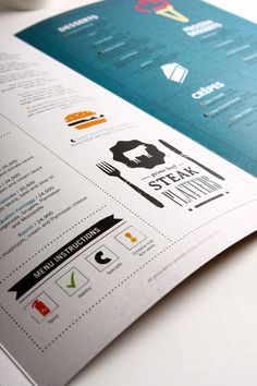 Cozmo Cafe #design #menu