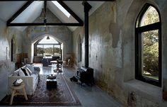 Giacomo Yandoit House – Modern Classic Transformation of a Former Church