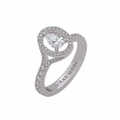 ❤ Nirav Modi Celestial Pear Diamond Ring #luxuryes