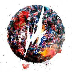 BRAINFEEDER — TEEBS BRAINFEEDER LOGO TEE #brainfeeder #logo #paint #teebs