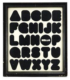 paulo rafael : type - hellophabet #paulorafael #typography