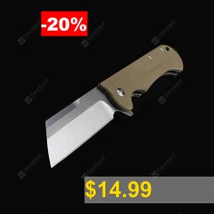 Folding #Knife #Tanto #D2 #Blade #G10 #Handle #58HRC #Outdoor #Camping #Hunting #EDC #Tool #Top #Gear