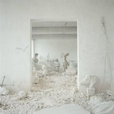 chiara goia sculptors village #white