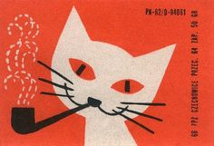 grain edit · modern graphic design inspiration blog + vintage graphics resource #cat #mid #century