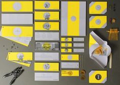 Ray Lemon | New Grids #yellow #design #graphic #identity