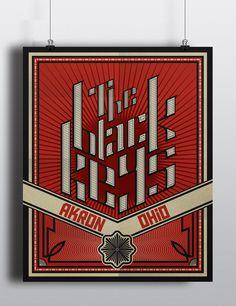 The Black Keys on Behance #design #graphic #poster #theblackkeys #music #typography