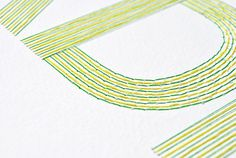 It's Nice That : Peter Crawley's Order Chaos brings us stitch-tastic textual tangles #design